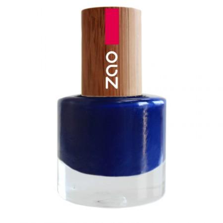 ZAO Bleu Nuit 653 VERNIS A ONGLES NATUREL