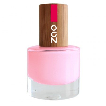 ZAO Rose Bonbon 654 VERNIS A ONGLES NATUREL
