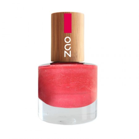 ZAO Rose Fuschia 657 VERNIS A ONGLES NATUREL