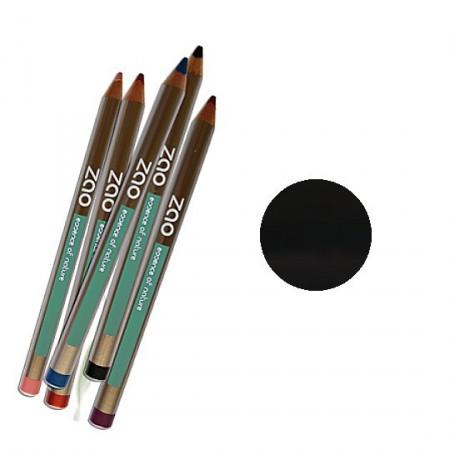 ZAO 601 Noir Crayon yeux