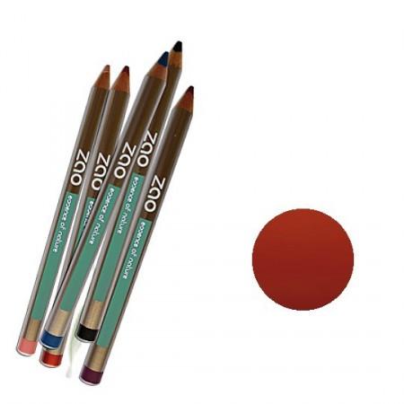 ZAO 608 Brun orange Crayons lèvres