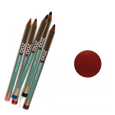 ZAO 610 Rouge cuivré Crayons lèvres