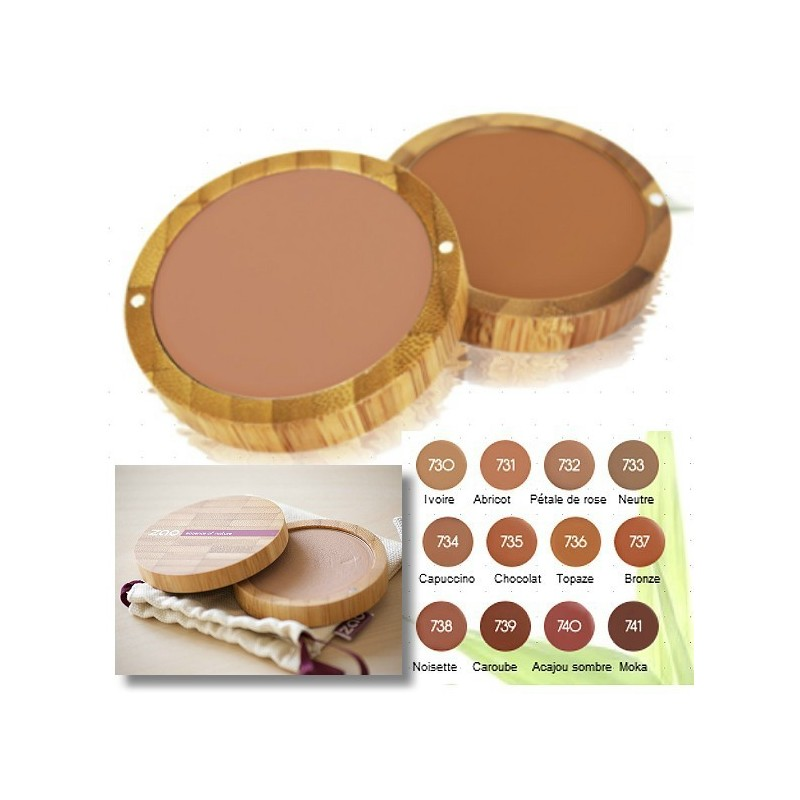 fond de teint compact zao make up zao makeup make up zaomakeup maquillage bio produits. Black Bedroom Furniture Sets. Home Design Ideas
