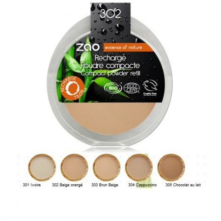 ZAO recharge Poudre compact
