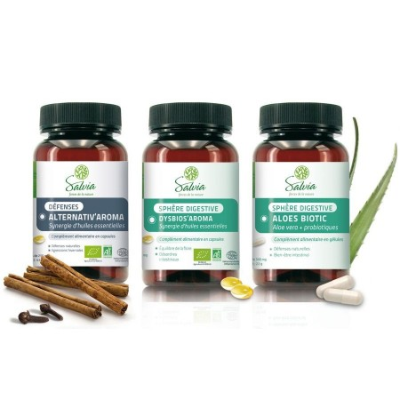 PROGRAMME DYSBIOSE INTESTINALE 3 PRODUITS - Salvia