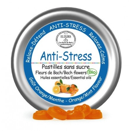 PASTILLES ANTI - STRESS - Fleurs de Bach - Elixirs and Co
