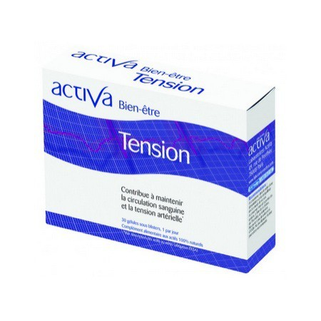 TENSION Bien-Être ACTIVA - Contribue à maintenir la circulation sanguine