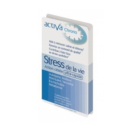 STRESS DE LA VIE Chrono ACTIVA Laboratoires