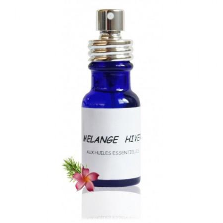 MÉLANGE HIVER AUX huiles essentielles biologiques - Abiessence