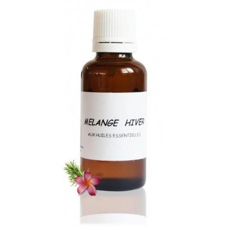 RECHARGE MÉLANGE HIVER AUX huiles essentielles bio - Abiessence
