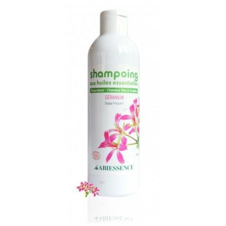 GÉRANIUM - shampoing à l'H.E. - Abiessence