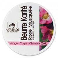 Beurre de Karité Rose Musquée Bio - Naturado