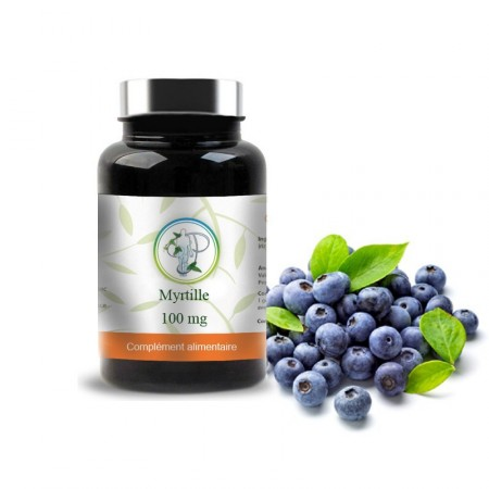 MYRTILLE - BILBERRY 100mg - Planticinal
