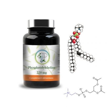 PHOSPHATIDYLCHOLINE 220mg - sphère hépatique Planticinal