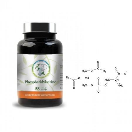 PHOSPHATIDYLSÉRINE 100mg - Planticinal