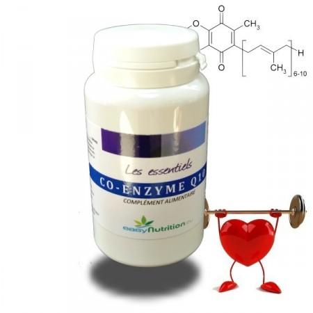 COENZYME Q10 - ralentit les effets du vieillissement, puissante action anti oxydante - EasyNutrition