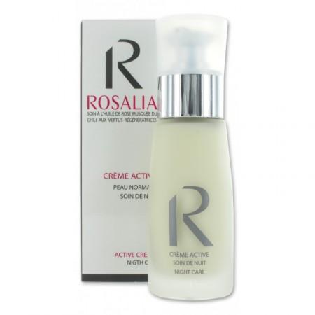 CRÈME ACTIVE NUIT bio 50 ml - Rosalia