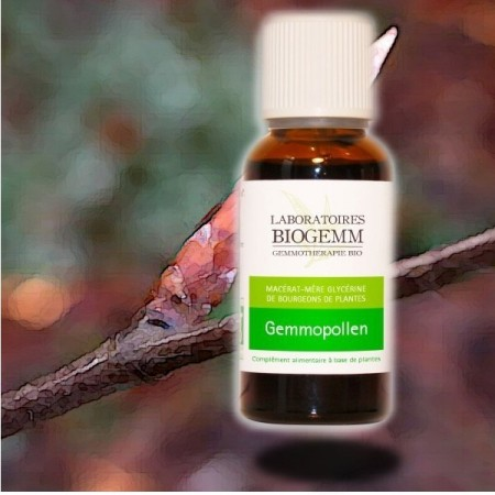 GEMMOPOLLEN lutte contre les allergies respiratoires Biogemm