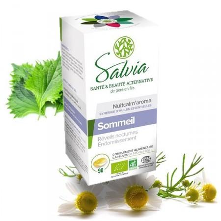 NUITCALM'AROMA Huiles essentielles bio en capsules - Salvia