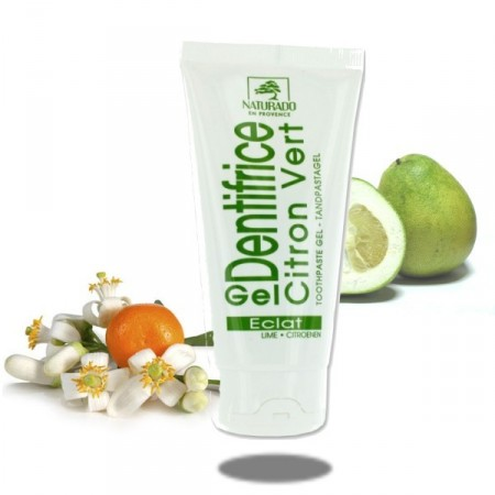 Citron Dentifrice Tube Gel Bio - Naturado