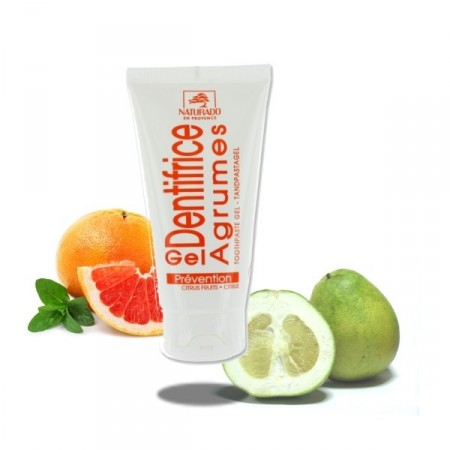 Agrumes Dentifrice Tube Gel Bio - Naturado