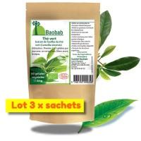 Thé vert - extraits de feuilles
