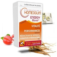 ENERGY BLOOD- homeogum - pastilles