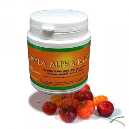 ACEROLA Alpha Lipoïque Super vitamineC - Jade Recherche