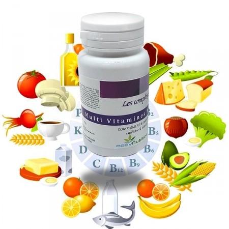 MULTI VITAMINES MINERAUX- Easynutrition