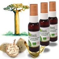 Huile vierge de Baobab bio Baoil - lot de 3 bouteilles