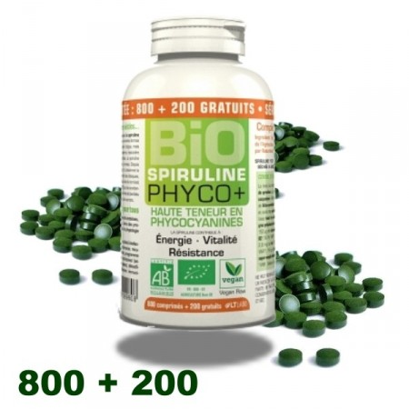 SPIRULINE BIO PHYCO+ 1000 comp. LT labo