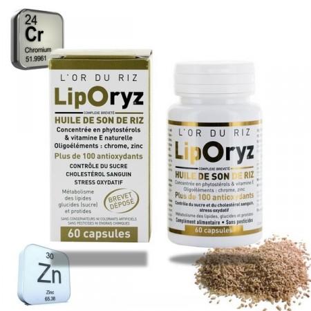 LIPORYZ 60 capsules - LT labo - Huile de son de riz