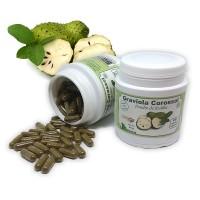 GRAVIOLA Corossol - Gélules de poudre de feuilles- Lot de 3