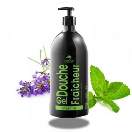 MENTHE FRAICHE - Shampooing Douche XXL 1 Bio - Naturado