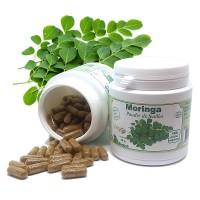 Moringa- Gélules de poudre de feuilles
