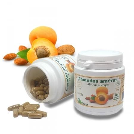 Amandes amères Source de vitamine B17 180 gél.