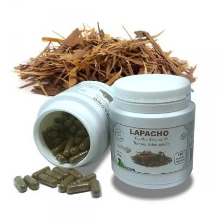 LAPACHO Infections sévères 180 gél. Écorce poudre