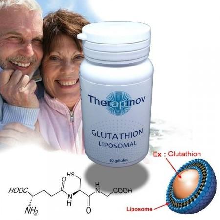 GLUTATHION Liposomale - santé cellulaire anti-vieillissement