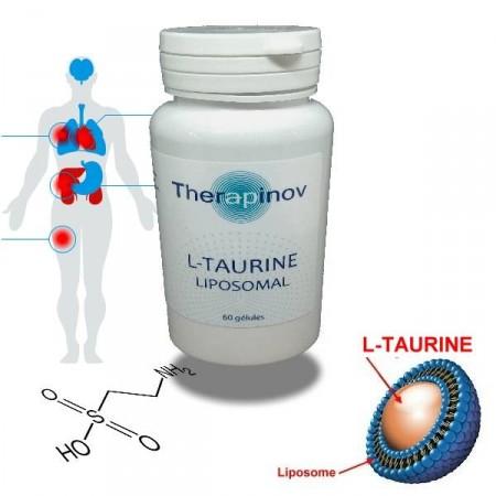 L-TAURINE Liposomale - Immunité, protection cellulaire puissante - Therapinov