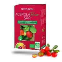 Acerola bio 500 - Phyto-Actif - Esenka
