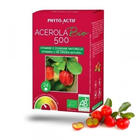 ACEROLA bio 500 - Phyto - Actif