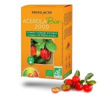 ACEROLA 2000 bio - Phyto - Actif 340 mg de vitamine C