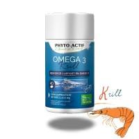 OMEGA 3 Krill 500mg - Phyto-actif