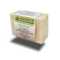 SHAMPOING SOLIDE Cheveux secs 100gr. Abiessence