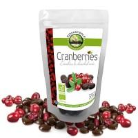 CRANBERRIES au CHOCOLAT noir bio 200g - Ecoidées