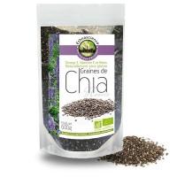 GRAINES DE CHIA bio 600g - Ecoidées