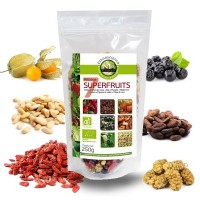 Mélanges de 7 superfruits bio 250g - Ecoidées