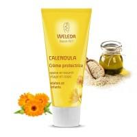 CALENDULA Crème protectrice Corps et Visage - 75ml - Weleda
