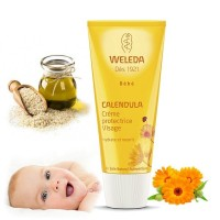CALENDULA Crème protectrice Visage bébé- 50ml - Weleda