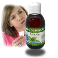 BAIN DE BOUCHE -Menthe, Argent colloïdal, zinc - Catalyons